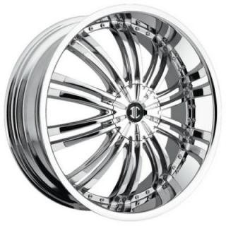 2 CRAVE WHEELS  2 CRAVE N01 CHROME RIM