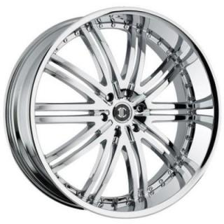 2 CRAVE WHEELS  2 CRAVE N11 CHROME RIM