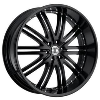 2 CRAVE WHEELS  2 CRAVE N11 SATIN BLACK RIM