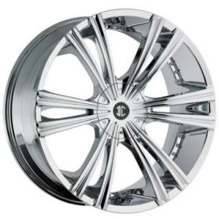 2 CRAVE WHEELS  2 CRAVE N12 CHROME RIM
