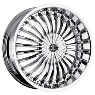 2 CRAVE WHEELS  2 CRAVE N13 CHROME RIM
