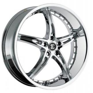 2 CRAVE WHEELS  2 CRAVE N14 CHROME RIM