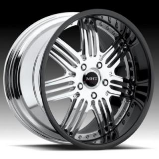 MHT FORGED EDITION  BREMAN CHROME RIM with BLACK LIP