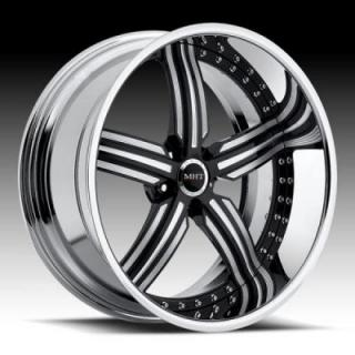 MHT FORGED EDITION  ANNEX CHROME/BLACK RIM