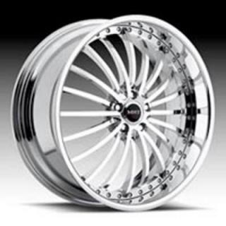 MHT FORGED EDITION  FUEGO CHROME RIM