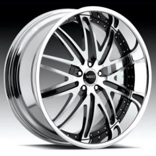 MHT FORGED EDITION  CORSICA BRUSHED/BLACK RIM with CHROME LIP