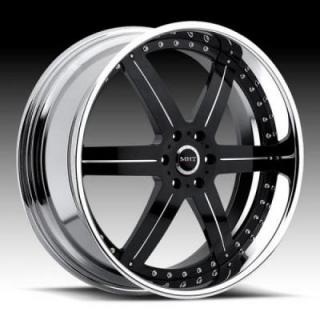LLC 6 BLACK RIM by MHT FORGED EDITION