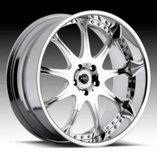 M10 SILVER/BRUSHED RIM by MHT FORGED EDITION