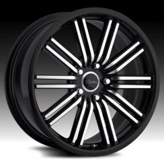 RACELINE WHEELS  199 BREMTECH BLACK RIM