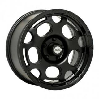 BLACK ROCK WHEELS  906B SCORPION BLACK RIM