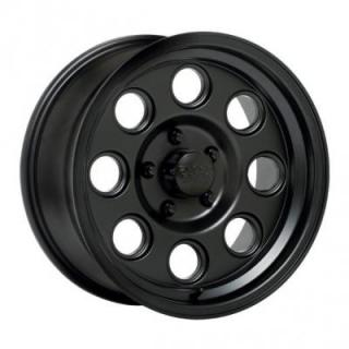 BLACK ROCK WHEELS  908B YUMA BLACK RIM