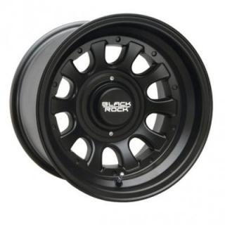 BLACK ROCK WHEELS  909B TYPE D BLACK RIM