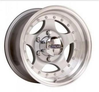 CRAGAR WHEELS  409S MIRAGE SILVER WHEEL