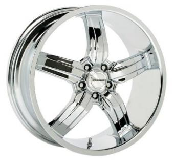 CRAGAR WHEELS  701C TYPE M CHROME WHEEL