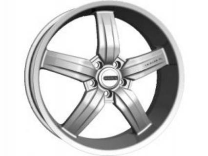 CRAGAR WHEELS  701S TYPE M SILVER WHEEL