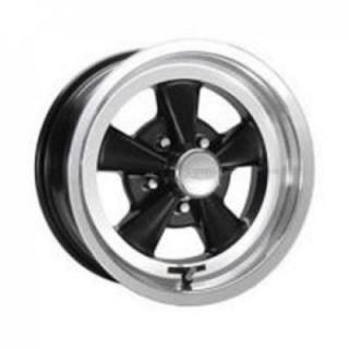 CRAGAR WHEELS  61B S/S SUPER SPORT BLACK WHEEL