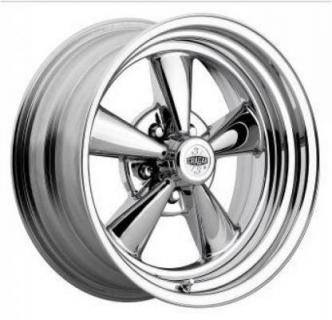 CRAGAR WHEELS  61C S/S SUPER SPORT CHROME WHEEL