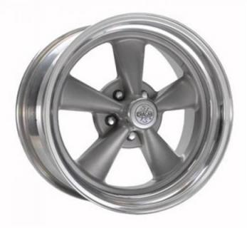 CRAGAR WHEELS  61G S/S SUPER SPORT GRAY WHEEL