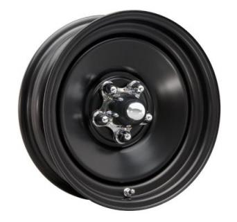 CRAGAR WHEELS  69 DELUX BLACK WHEEL