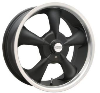CRAGAR WHEELS  600B S/S SUPER SPORT FWD BLACK WHEEL