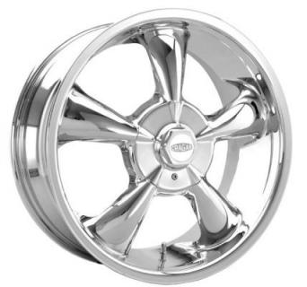 CRAGAR WHEELS  600C S/S SUPER SPORT FWD CHROME WHEEL