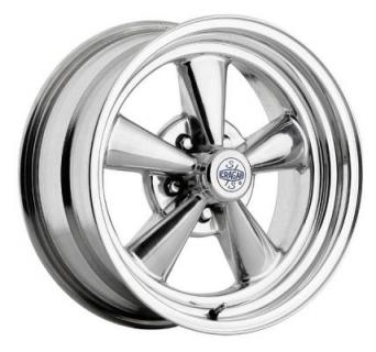 CRAGAR WHEELS  612P S/S SUPER SPORT ALUMINUM POLISHED WHEEL