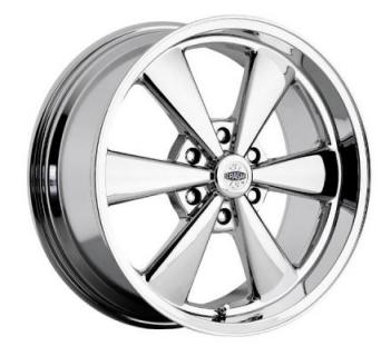 CRAGAR WHEELS  616C S/S SUPER SPORT LATEMODEL CHROME WHEEL