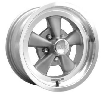CRAGAR WHEELS  610G S/S SUPER SPORT RWD GRAY WHEEL