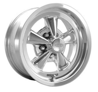 CRAGAR WHEELS  610P S/S SUPER SPORT RWD POLISHED WHEEL