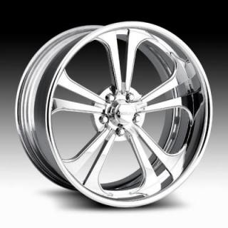 RACELINE WHEELS  JADED 5 POLISHED RIM