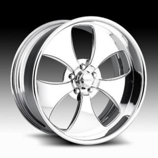 RACELINE WHEELS  203 NITRO POLISHED RIM