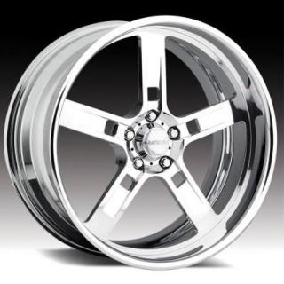RACELINE WHEELS  205 FORCE 5 POLISHED RIM