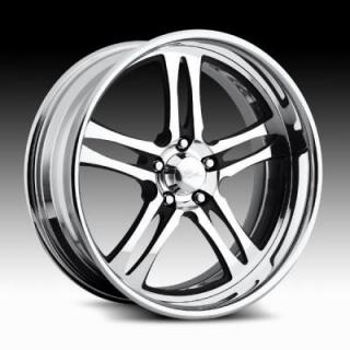 RACELINE WHEELS   206 RAZOR POLISHED RIM