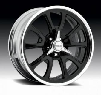 RACELINE WHEELS  238 GT BLACK/CENTER RIM