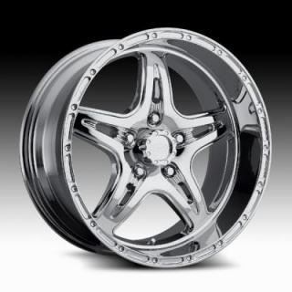 RACELINE WHEELS  895 RENEGADE 5 CHROME RIM