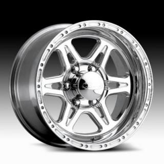 RACELINE WHEELS  896 RENEGADE 6 CHROME RIM