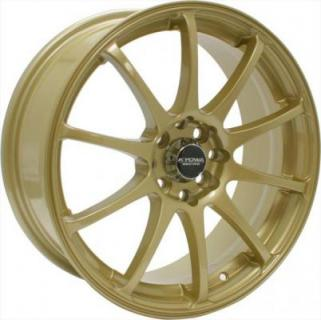 KYOWA WHEELS  KR626 GOLD RIM