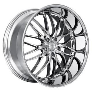 MRR DESIGN WHEELS  GT1 CHROME RIM