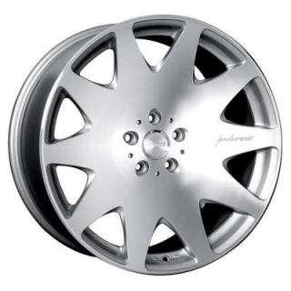 HR3 SILVER RIM with MACHINED FACE by MRR DESIGN WHEELS