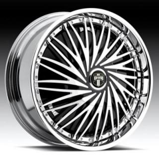 REBELLION S751 CHROME RIM by DUB SPINNERS