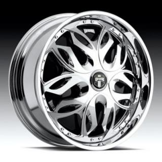 DUB SPINNERS  MUSE S784 CHROME RIM