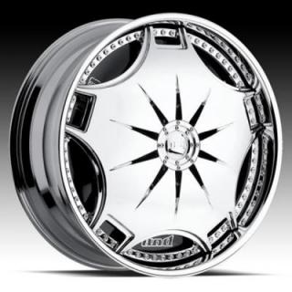 GANJA S788 CHROME RIM by DUB SPINNERS