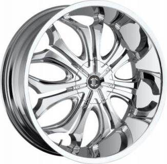 2 CRAVE WHEELS  2 CRAVE N08 CHROME RIM