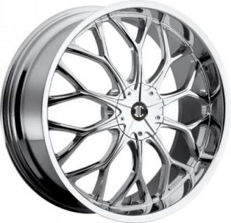 2 CRAVE WHEELS  2 CRAVE N09 CHROME RIM