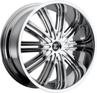2 CRAVE WHEELS  2 CRAVE N07 CHROME RIM
