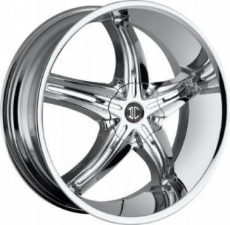 2 CRAVE WHEELS  2 CRAVE N05 CHROME RIM