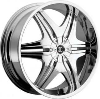 2 CRAVE WHEELS  2 CRAVE N06 CHROME RIM