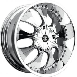 2 CRAVE WHEELS  2 CRAVE N03 CHROME RIM