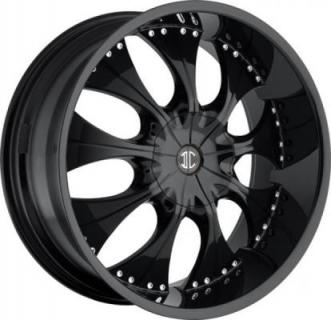 2 CRAVE WHEELS  2 CRAVE N03 GLOSSY BLACK RIM