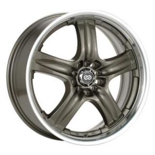 ENKEI WHEELS  EM5 PLATINUM BRONZE WHEEL WITH MACHINED LIP